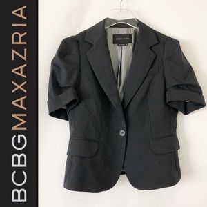 BCBG Max Azria little pinstripe jacket